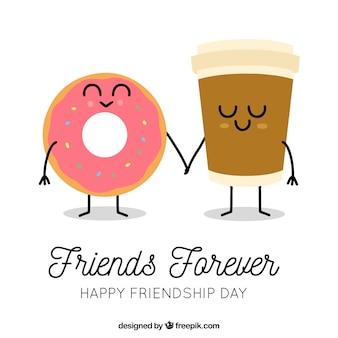 День дружбы с мультяшной пищей