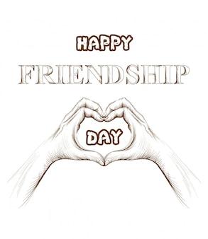 Карта дня дружбы