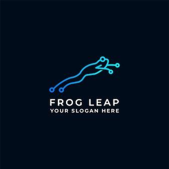 Frog circuit jump logo