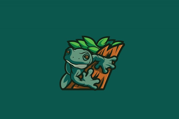 The frog e sports logo