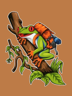 Frog tree backpacker