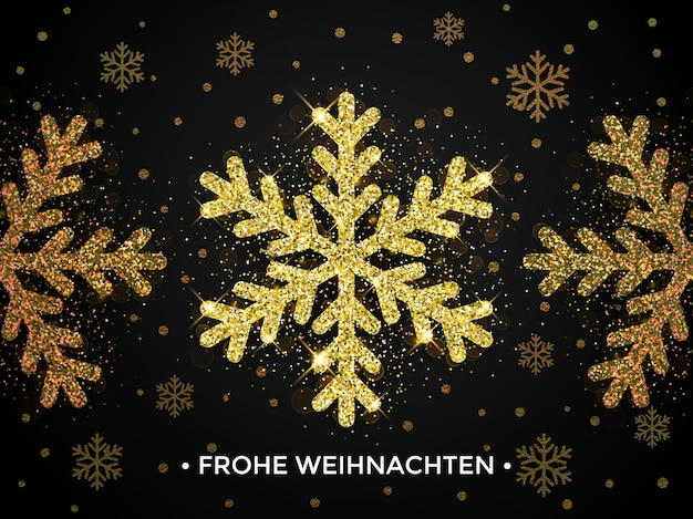 Frohe weihnachten christmas  banner