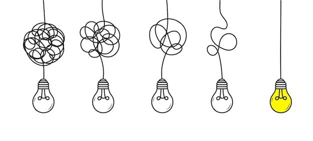 複雑なものから単純なものへ最適化プロセスの単純化複雑な混乱