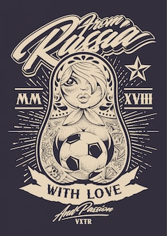 From russia with love illustration