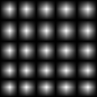 From white to black circles gradient square shape. vector illustration. eps10
