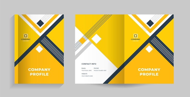Front & back cover for brochure, company profile, proposal, annual report magazine