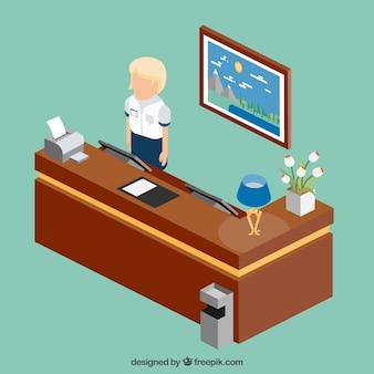 Front-office clerk