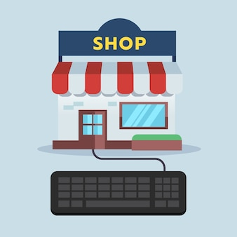 Frontshop connect with keyboard