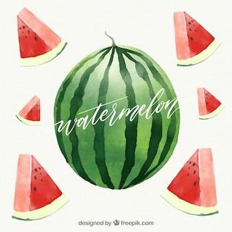 Дизайн фруктовый фон