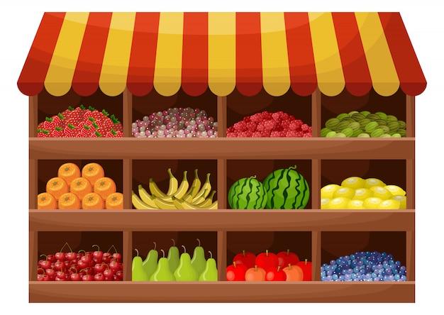 Магазин фруктовых фермеров