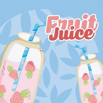 Fruit juice cartoons