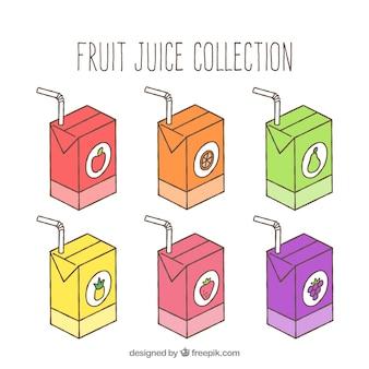 Коллекция фруктовых соков