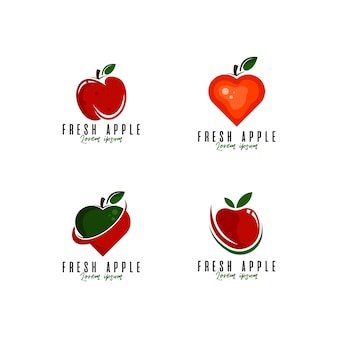 フルーツロゴセット