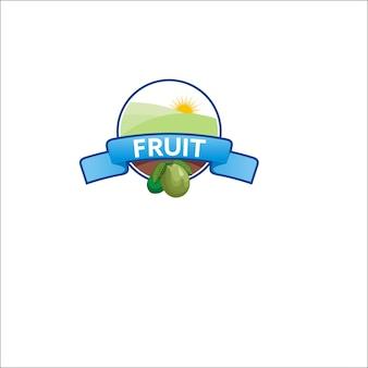 フルーツロゴテンプレート