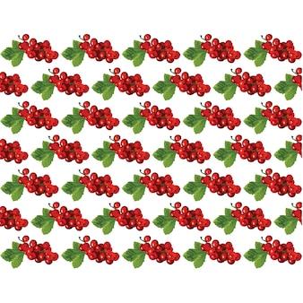 Fruit pattern design
