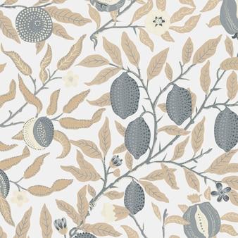 Fruit or pomegranate pattern