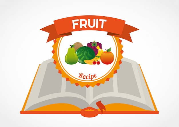 Fruit recipe book