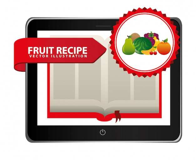 Fruit recipe book