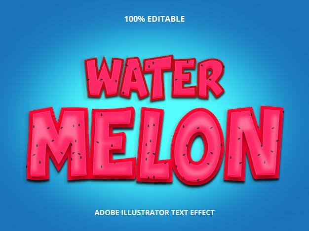 Стиль текста fruit - редактируемый эффект шрифта