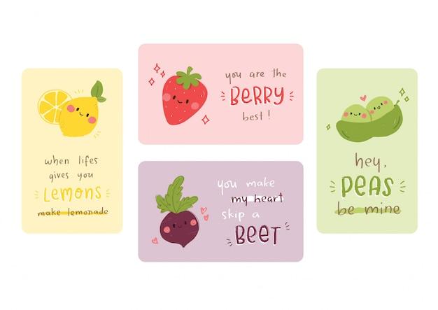 Fruit & veggie puns