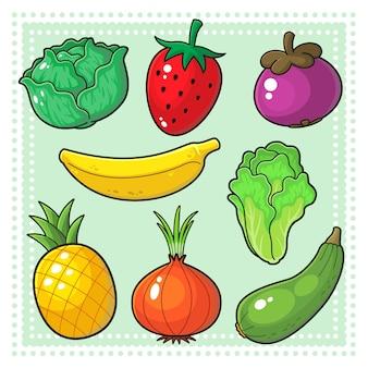 Фрукты и овощи 03