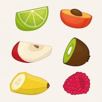 과일 디자인. 조명