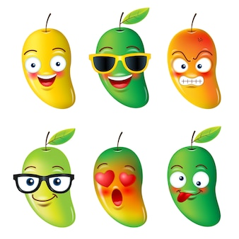 Fruits emojis