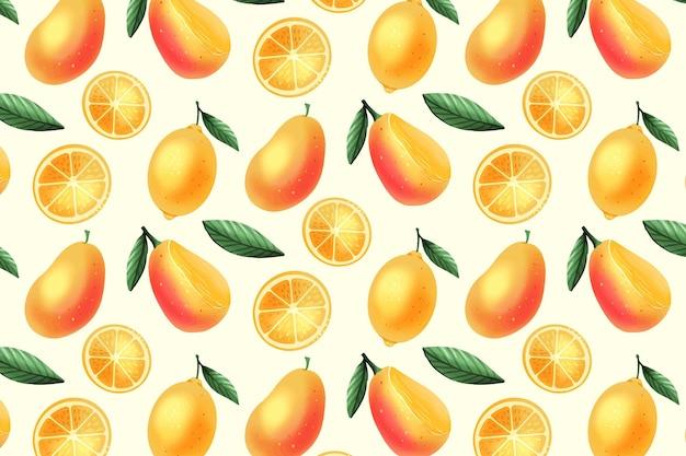 フルーツパターンコレクションコンセプト