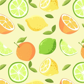 Fruits pattern concept