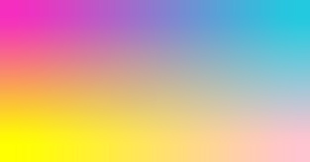 Пурпурный, бирюзовый, желтый, розовый градиент обои фон векторные иллюстрации.
