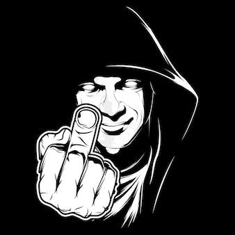 Fuck you symbol
