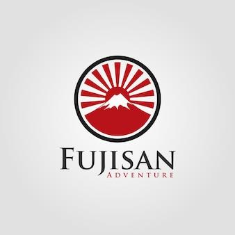 Fujisan - japanese logo