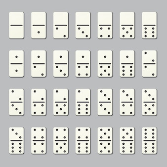 Full domino pieces
