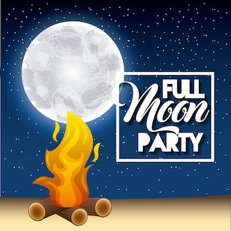 Full moon party summe