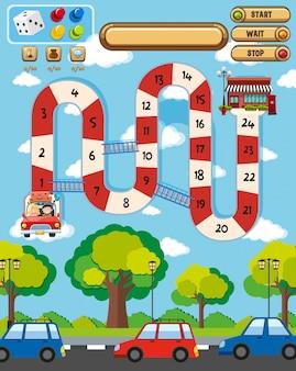 A fun boardgame template