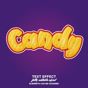 Fun and charming cartoon text effect