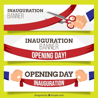 Fun collection of inauguration banners