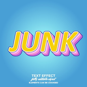 Fun, colorful layered text style