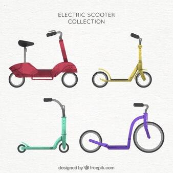 楽しい電動スクーターのコレクション