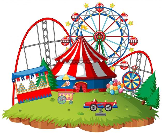 Тематический парк fun fair