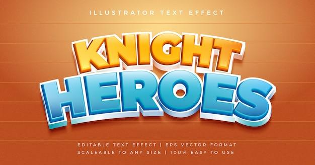 Эффект шрифта в стиле веселого игрового текста