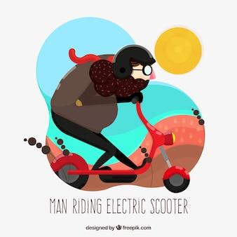 楽しい乗馬電動スクーター