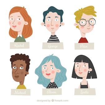 Fun pack of lovely avatars