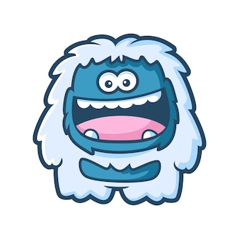 Snow Yeti Vectors, Photos and PSD files | Free Download