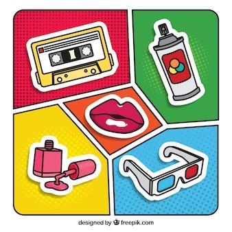 Коллекция поп-аксессуаров fun