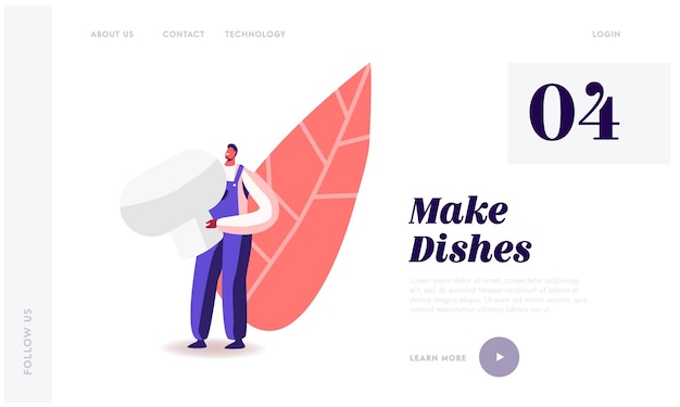 Fungiculture growth industry landing page template.