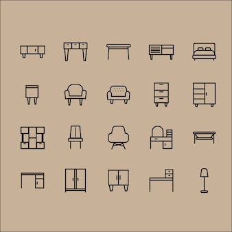 Funiture icons