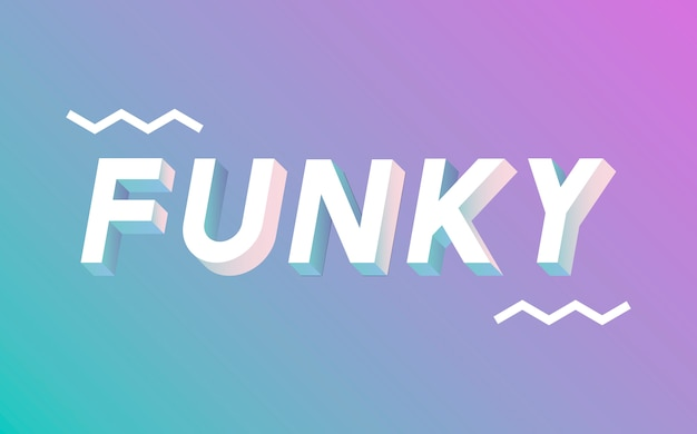 Funky banner