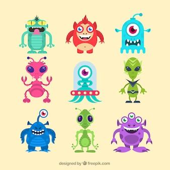 Funny aliens
