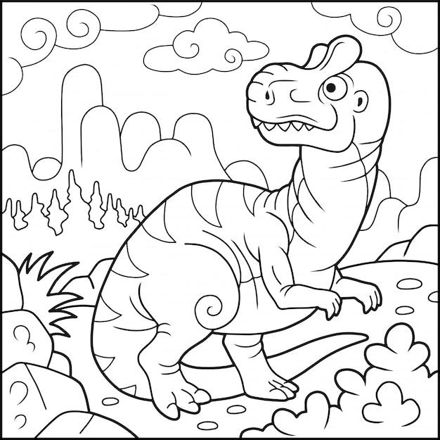 Funny allosaurus